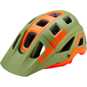 Lazer Impala Casco, matte khaki/orange